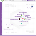 Info-Tech GRC Platform Data Quadrant Report Onspring as Leader
