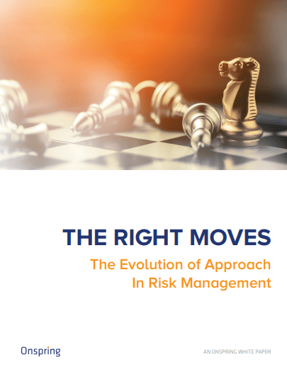 The Right Moves Onspring Risk Management Ebook