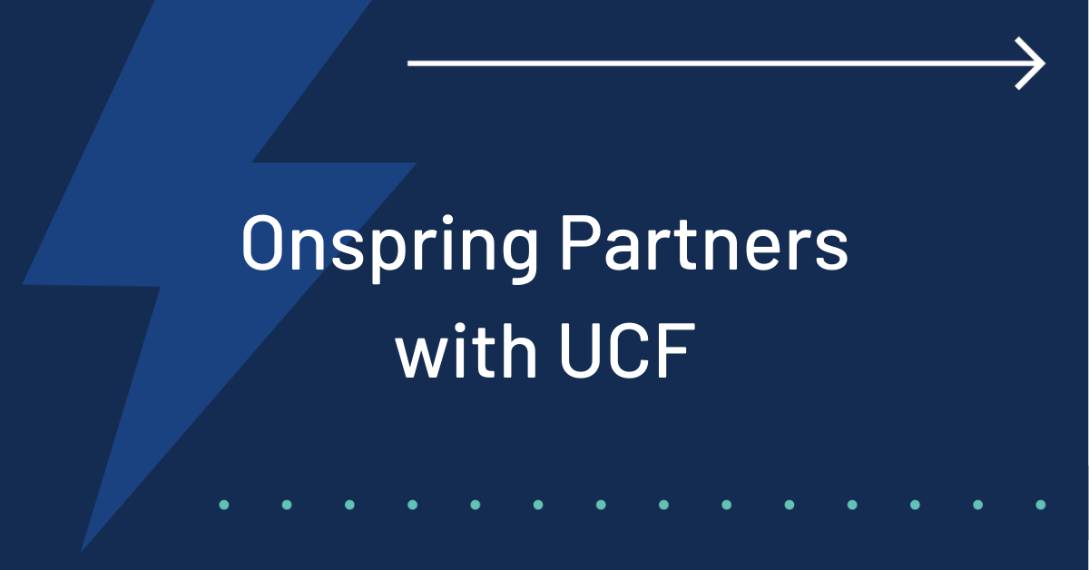 UCF Onspring Partner GRC Software ITSM Software