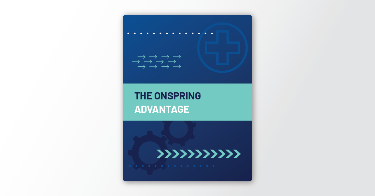The Onspring Advantage Data Sheet